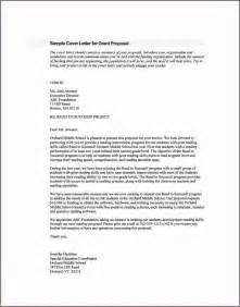 Rfp Cover Letter Exles by Sle Cover Letter Rfp
