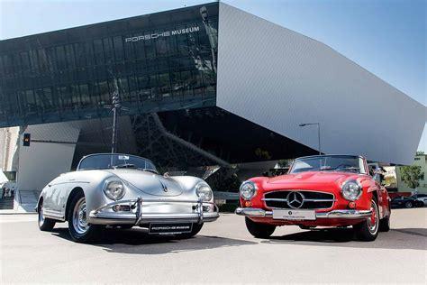 Porsche Museum Stuttgart Ticket Price by Porsche And Mercedes Benz In Historic Joint Venture
