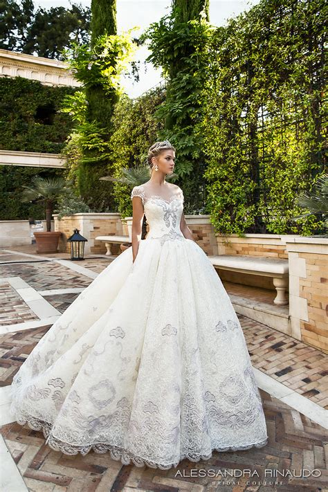 Wedding Gown 2017 by Alessandra Rinaudo 2017 Wedding Dresses Gorgeous Italian