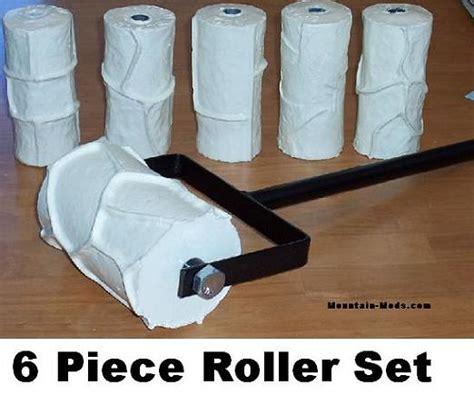 concrete pattern roller hire concrete cement landscape curbing machine 6 roller set ebay