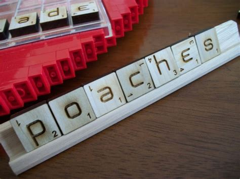 scrabble same word ambigrammic letter tiles