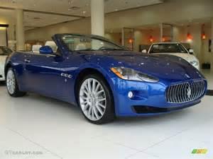 Maserati Grancabrio Blue 2012 Mediterraneo Blue Metallic Maserati Granturismo