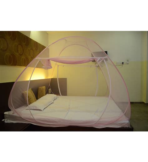 Mosquito Nets For Bed by Classic Mosquito Net For Bed With Cover Bag Pink By