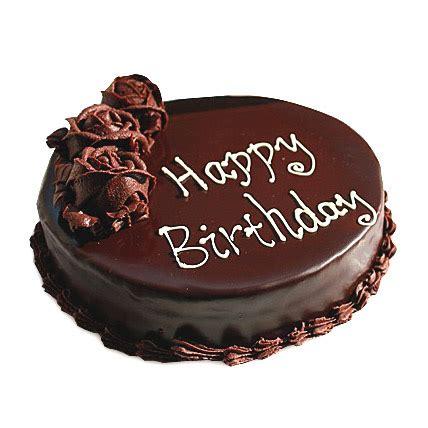 chocolate flower birthday cake 1/2kg