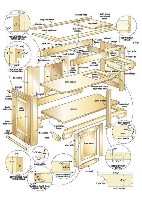 woodwork furniture floor plans pdf plans download 100 free woodworking plans projects now