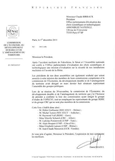 L'avenir de la filière nucléaire en France (rapport final