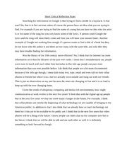 Critical Reflection Essay Exle by Critical Reflection Essay Exle