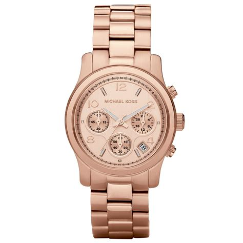 michael kors s gold runway chronograph