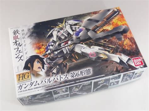 Bandai 1144 Hg Ibo Barbatos 6th Form content preview hg 1 144 gundam barbatos 6th form by