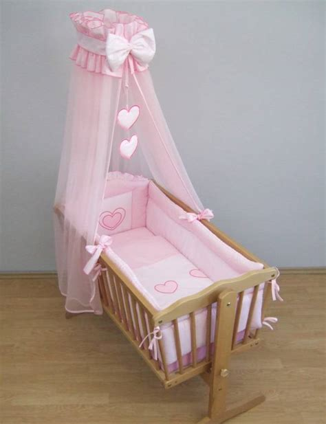Moses Baby Crib Crown Drape Canopy Netting Fits Crib Cradle Moses Basket Check Pattern Ebay