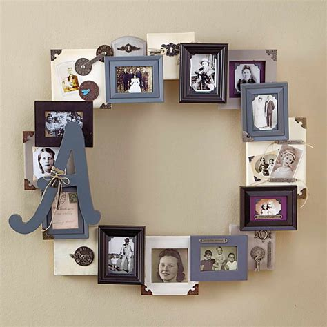 Handmade Photo Collage Ideas - organizing living room family picture ideas midcityeast
