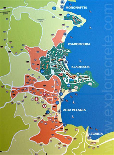 map pictures agia pelagia pictures