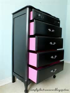 Black Dresser Drawers Simply Chic Treasures A Black Provincial Dresser