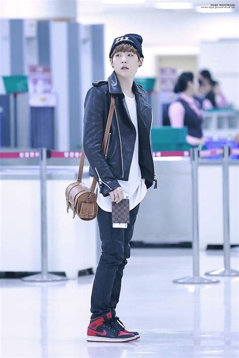 bts airport fashion suga haha that face exo airport outfits kpop