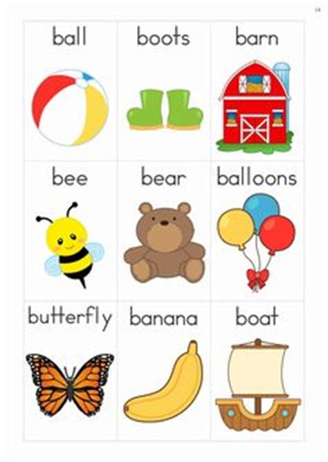 words that start with bed free phonics letter of the week b beginning b cvc words