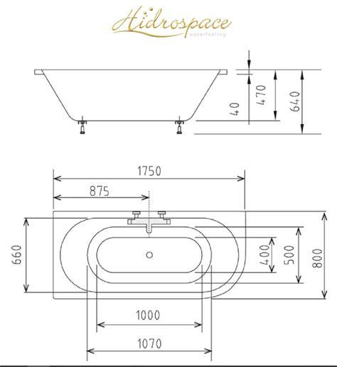 misure vasche da bagno rettangolari viva 165 175 185 x80 vasca da bagno rettangolare rettangolare