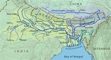 citarum river map the river ganges hindu holy mother ganga