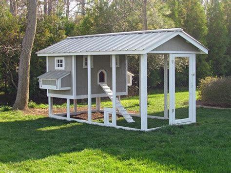 Rabbit Housing Plans Poulailler En Bois Avec Parc 224 Poules Am 233 Nagement Coops Chicken Coop Designs