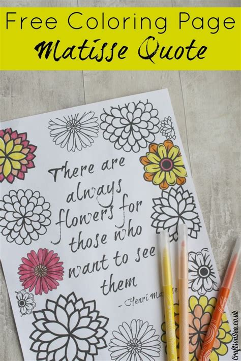 coloring book quotes chance inspirational quote coloring page matisse