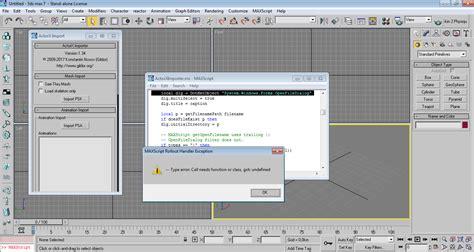 actorx importer 3ds max actorx importer for 3ds max