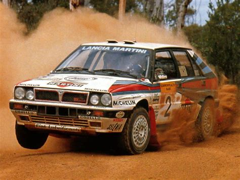 Lancia Delta Integrale Rally Lancia Delta Hf Integrale A 1988 Racing Cars