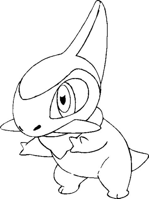 coloring pages pokemon axew drawings pokemon