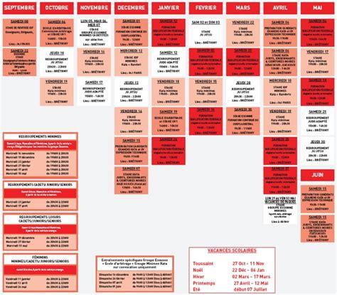 Calendrier Du Sportif Calendrier Sportif Judo Ju Jitsu Camilm Club Des