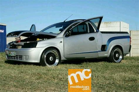 opel corsa bakkie modified chevrolet bakkie modified