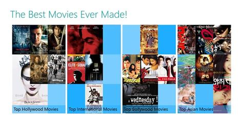 best movies ever the best movies ever made for windows 8 and 8 1