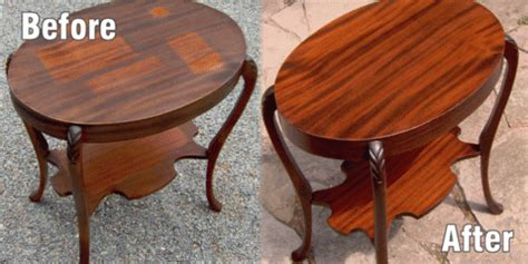 How To Restain Wood Furniture by Refinish Wood Furniture At The Galleria