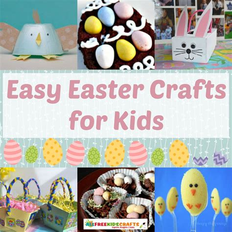 easy easter crafts for all free crafts