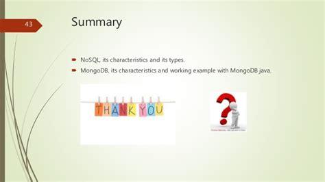 tutorialspoint nosql nosql basics and mongdb