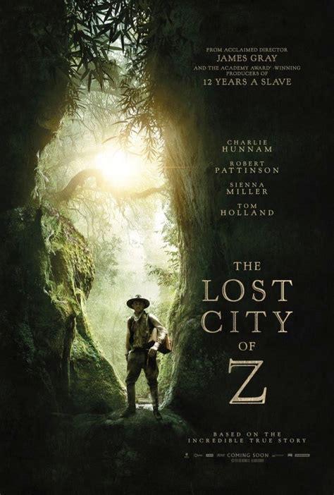 the lost trailer ita the lost city of z trailer poster e immagini