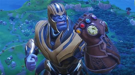 fortnite   thanos infinity gauntlet event works