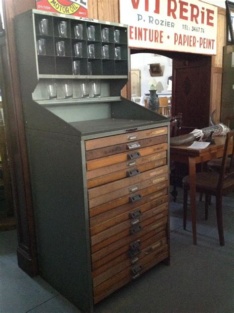 meuble d imprimerie meubles de m 233 tier