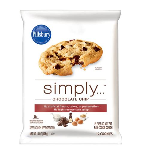 Bathroom Gift Ideas Pillsbury Simply Chocolate Chip Cookie Dough Review