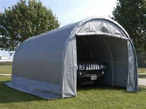 10 x20 x8 dome canvas garage nw quality sheds