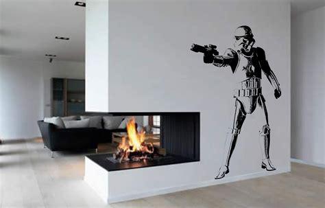 Childrens Bedroom Wall Stickers stormtrooper wall art sticker film decal storm trooper