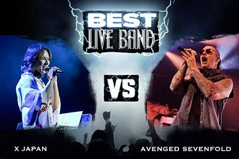 best live bands x japan vs avenged sevenfold best live band 2