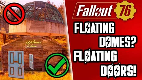 floating doors  build tips fallout