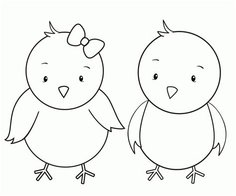 little chicks coloring pages coloring home