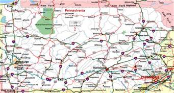 Map Of Pennsylvania Cities And Towns by Road Map Of Pennsylvania Pennsylvania Aaccessmaps Com