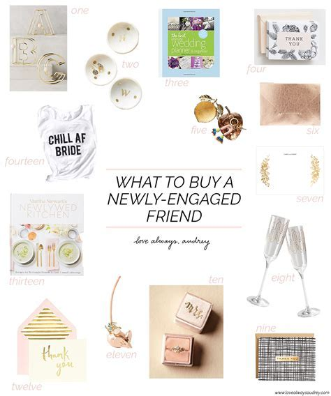 Unique Engagement Gift Ideas for Newly Engaged Friends