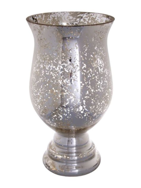 Mercury Glass Hurricane Vase by Silver Mercury Glass Hurricane Vase Ultrapom Wedding