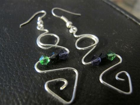 Handmade Wire Earrings Designs - s designs handmade wire jewelry yet more silver