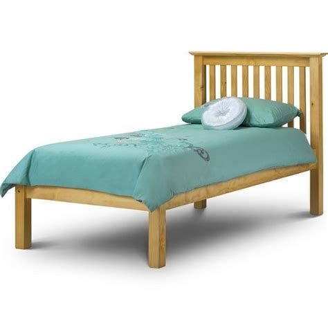 Barcelona Low Footend Single Bedframe 3ft Pine Pine Single Bed Frame