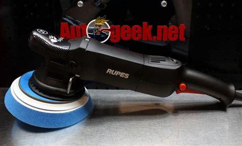 Rupes Rubber Shroud For Lhr 21 the rupes lhr21es random orbit polisher and polishing