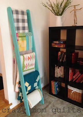 quilt racks ladder style woodworking projects plans