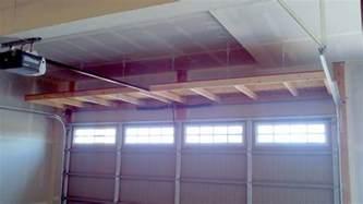 overhead garage storage diy