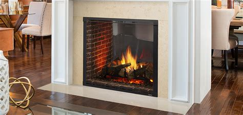 See Through Gas Fireplace Inserts by Marquis Ii See Through Directvent Gas Fireplaces Majestic